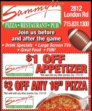 Join Us Befo and After the Game