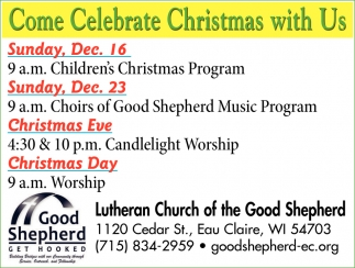 Come Celebrate Christmas with Us