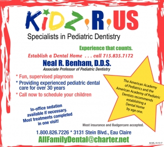 Specialists in Pediatric Dentistry