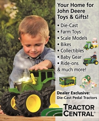 Your Home for John Deere Toys & Gifts