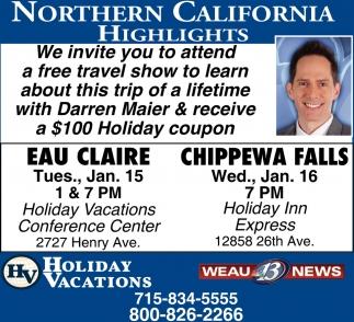 Northern California Highlights