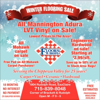Winter Fooring Sale