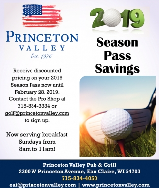 2019 Season pass Savings