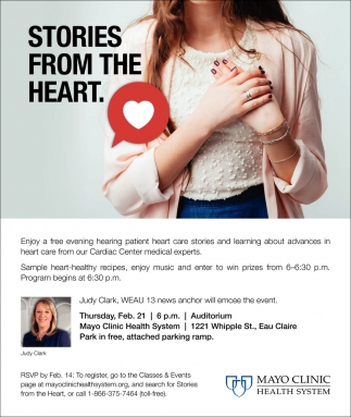 Stories from the Heart, Mayo Clinic Health System