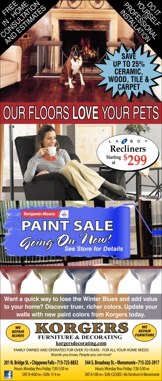 Our Floors Love Your Pets