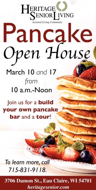 Pancake Open House