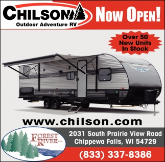 Over 50 New Units In Stock, Chilson Outdoor Adventure RV