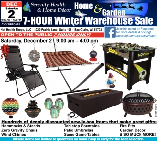 7-HOUR Winter Warehouse Sale