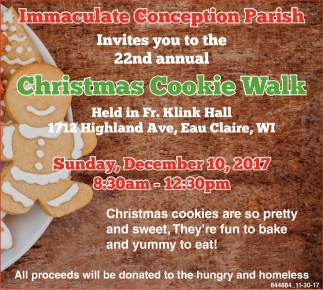 22nd Annual Christmas Cookie Walk