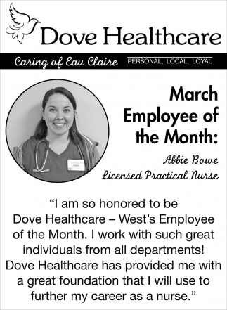 March Employee of the Month