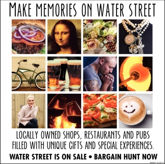 Make Memories on Water Street