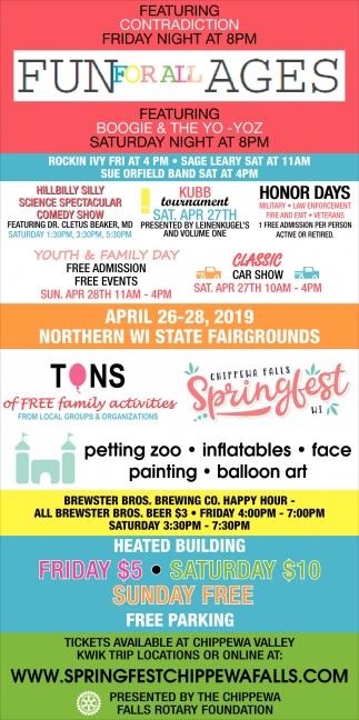 Chippewa Falls Spring Fest 2019