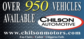 Over 950 Vehicles