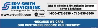 Voted #1 in Heating & Air Conditioning Customer Service & Satisfaction