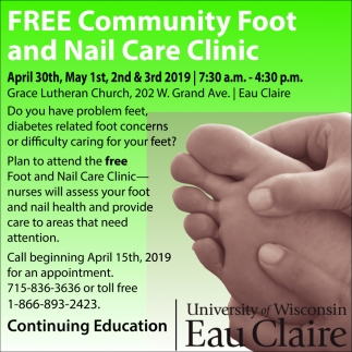 Free Community Foot and Nail Care Clinic