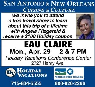 San Antonio & New Orleans Cuisine & Culture