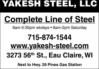 Complete Line of Steel