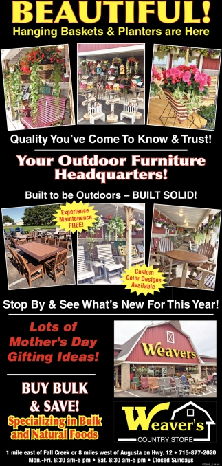 Your Outdoor Furniture Headquarters