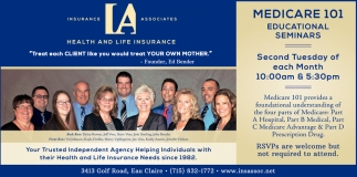 Medicare 101 Educational Seminars