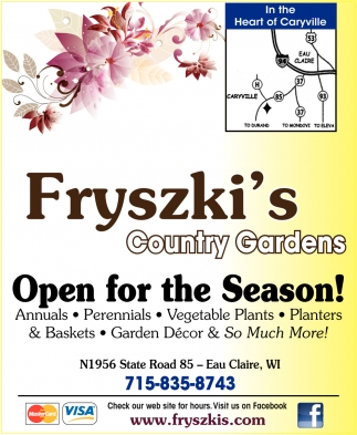 Open for the Season