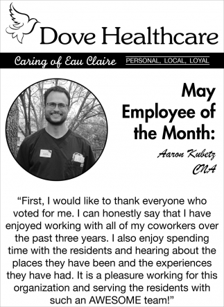 May Employee of the Month