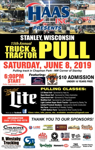 15th Annual Truck & Tractor Pull