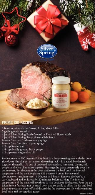 Prime Rib Recipe