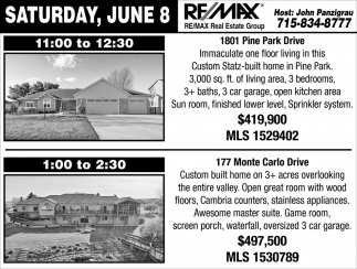 Saturday, June 8