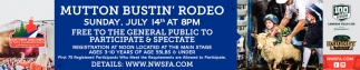 Mutton Bustin' Rodeo