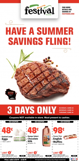 Have a Summer Savings Fling