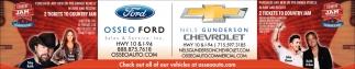 Osseo Ford & Nels Gunderson Chevrolet
