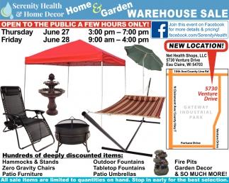 Home & Garden Warehouse Sale
