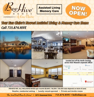Living, Bee Hive Homes, Eau Claire, WI