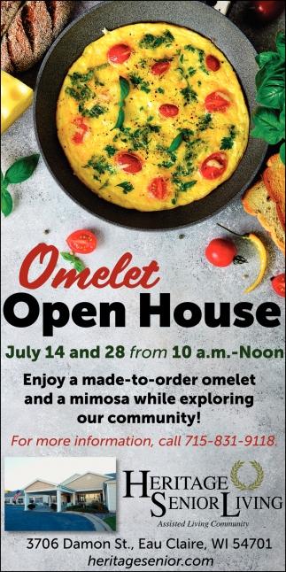 Omelet Open House