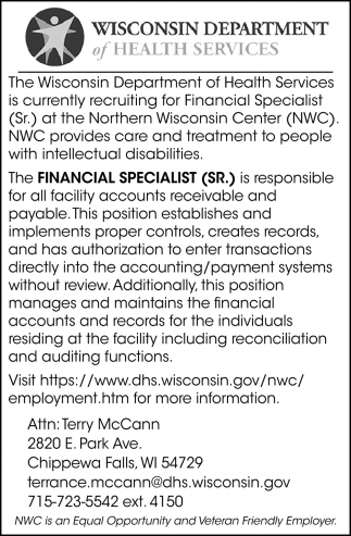 Financial Specialist