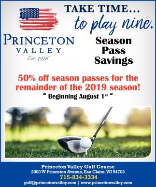 Season Pass Savings