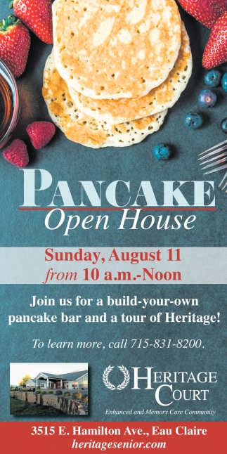 Pancake Open House