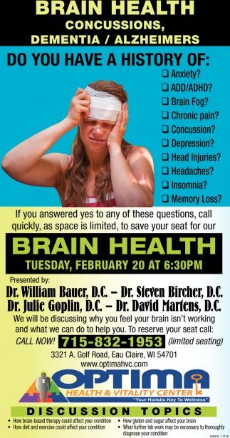 Brain Health & Mobility