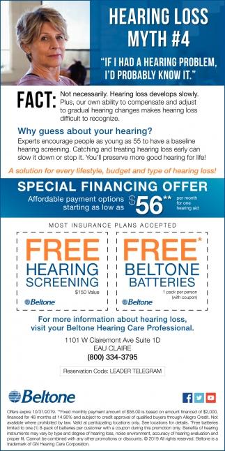 Hearing Loss Myth #4