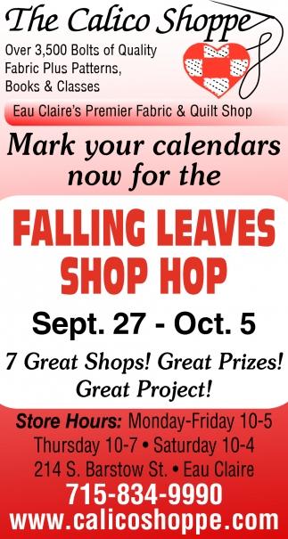 Falling Leaves Shop Hop