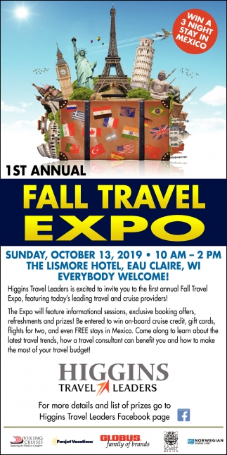 1st Annual Fall Travel Expo