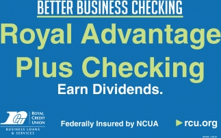 Royal Advantage Plus Checking