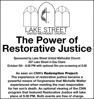 The Power of Restorative Justice