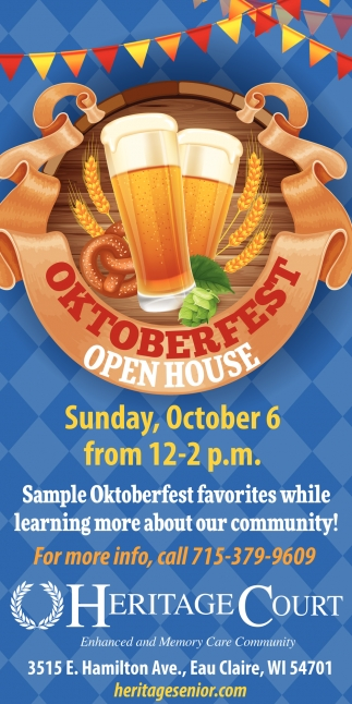 Oktoberfest Open House