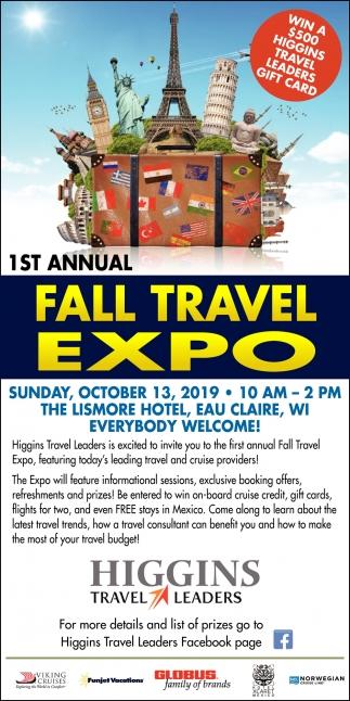 Fall Travel Expo