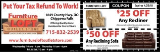 Are You Ready For Some Footbal Furniture Loft Outlet Chippewa Falls Wi