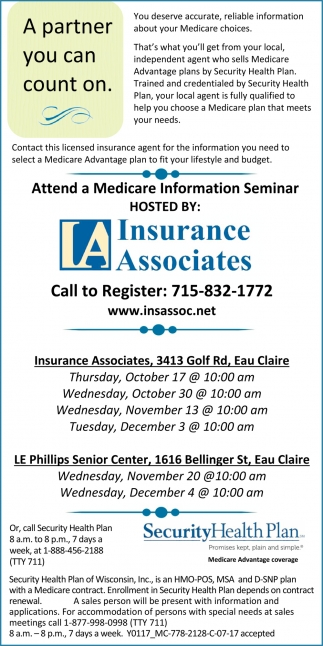 Medicare Educational Seminars