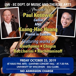 Paul Kosower and Kuang-Hao Huang