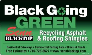Black Going Green