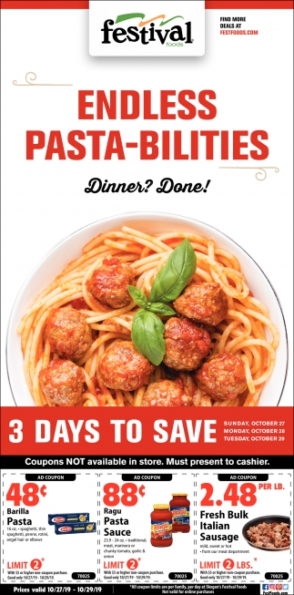 Endless Pasta-Bilities